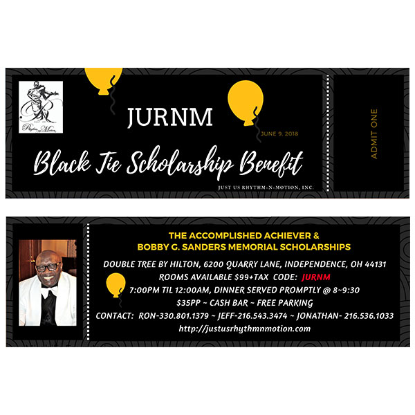 Black Tie Scholarship Benefit Ticket